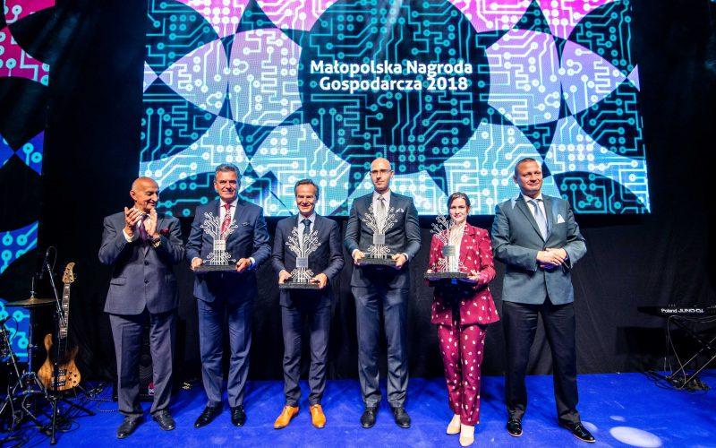 Special award for Tomasz Lubowiecki
