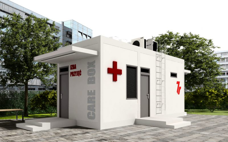 7R funds a modular emergency room for hospital in Starachowice, Poland